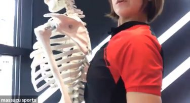 【ストレッチ】正しい肩の位置